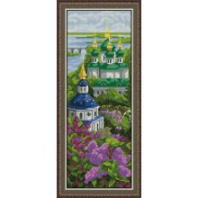Набір для вишивання хрестиком Леді, Видубицький монастир  01027