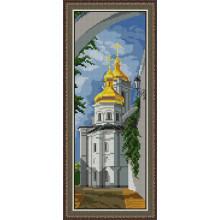Набір для вишивання хрестиком Леді, Києво-Печерська Лавра  01026