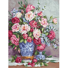 Набір для вишивання Luca-S, Її величність - Рози (В605)