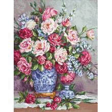 Набор для вышивания Luca-S, Её величество -Розы (В605)