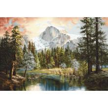 Набір для вишивання Luca-S, Велич природи (В604)