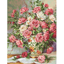 "Cross-Stitch Kit ""Posies for the Princess""  Luca-S (B603)"