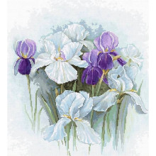 "Cross-Stitch Kit ""Irises""  Luca-S (B2367)"