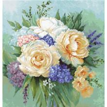 Набір для вишивання Luca-S, Квітковий букет (B2370)