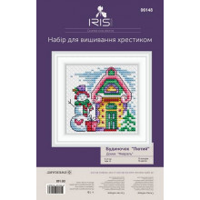 "Cross-Stitch Kit ""February House"" Iris Design 06148"