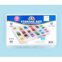 Коробка - органайзер для хранения мулине DMC, 6118/6