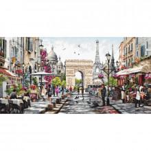 Набір для вишивання хрестиком, Luca-S, Париж (B2382)