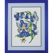 Fairy of the bells, crosstitch PDF chart