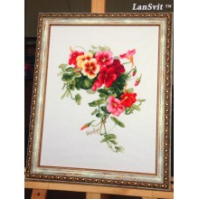 "Cross-Stitch Kit ""Nasturtiums""  LanSvit А-003"