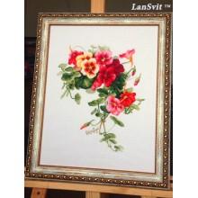 Набір для вишивання ЛанСвіт, Настурції (А-003)