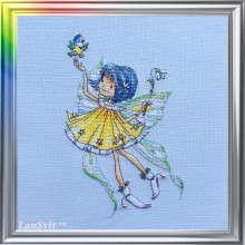 "Cross-Stitch Kit ""In a Spring Mood"" LanSvit D-049"