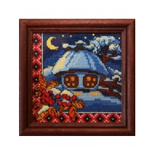 "Cross-Stitch Kit ""Winter Night"" Ledi 01272"