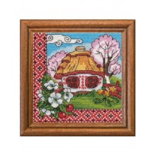 "Cross-Stitch Kit ""Flowering Podolia"" Ledi 01294"