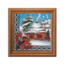 "Cross-Stitch Kit ""Winter Ukraine"" Ledi 01295"
