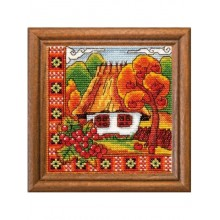 "Cross-Stitch Kit ""Autumn Bucovina"" Ledi 01270"