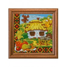 "Cross-Stitch Kit ""Harvest Time"" Ledi 01301"