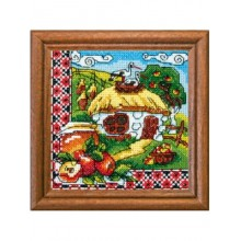 "Cross-Stitch Kit ""Honey Spas"" Ledi 01302"