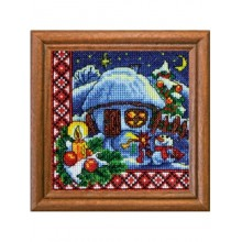 "Cross-Stitch Kit ""Christmas Eve"" Ledi 01304"