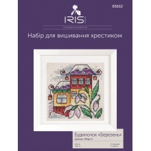 "Cross-Stitch Kit ""March House"" Iris Design 05632"