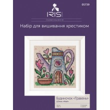"Cross-Stitch Kit ""May House"" Iris Design 05739"