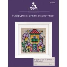 """Набір для вишивання Iris Design, Будиночок """"Липень"""", 05839"""