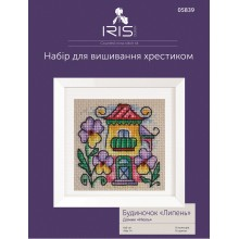 "Cross-Stitch Kit ""July House"" Iris Design 05839"