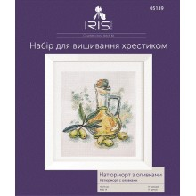 "Cross-Stitch Kit ""Still life with olives"" Iris Design 05139"