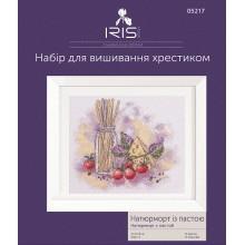 Набор для вышивания крестиком Iris Design, Натюрморт с пастой (05217)