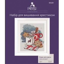 "Cross-Stitch Kit ""Coffee for two"" Iris Design 05529"