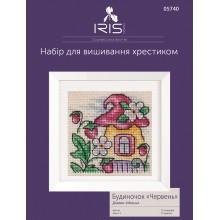 """Будиночок """"Червень"""", набір для вишивання Iris Design 05740"""