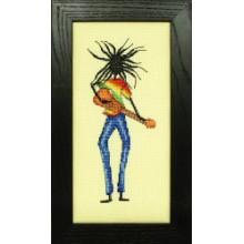 The Reggae, Cross-Stitch Kit Anchor EPX816