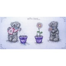 With Love, Cross-Stitch Kit Anchor TT202
