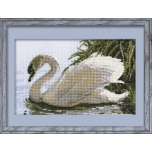 "Cross-Stitch Kit ""Female Swan""  Riolis 417"