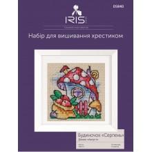 """Набір для вишивання Iris Design, Будиночок """"Серпень"""",  05840"""