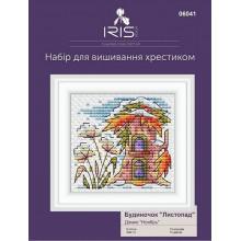 """Набор для вышивания Iris Design, Домик """"Ноябрь"""",  06041"""
