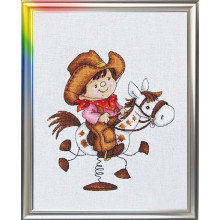 "Cross-Stitch Kit ""The Lord of Prairies"" LanSvit D-040"