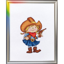 "Cross-Stitch Kit ""Deputy Sheriff"" LanSvit D-035"