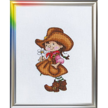 "Cross-Stitch Kit ""On the Playpath"" LanSvit D-033"
