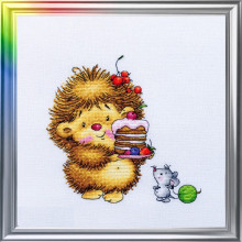 "Cross-Stitch Kit ""Sweet Day"" LanSvit D-046"