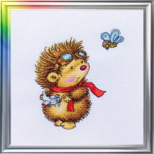 "Cross-Stitch Kit ""Flying Day"" LanSvit D-045"