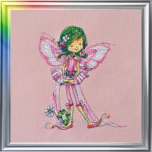 "Cross-Stitch Kit ""In a Summer Mood"" LanSvit D-050"