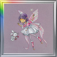 "Cross-Stitch Kit ""In a Winter Mood"" LanSvit D-048"
