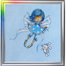 "Cross-Stitch Kit ""In a Sky-Blue Mood"" LanSvit D-026"