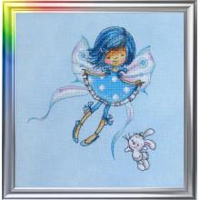 "Cross-Stitch Kit ""In a Sky-Blue Mood"" LanSvit D-026"