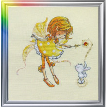 "Cross-Stitch Kit ""In a Sunny Mood"" LanSvit D-025"