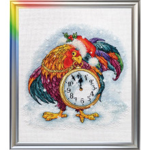 "Cross-Stitch Kit ""The Cockerel"" LanSvit D-054"