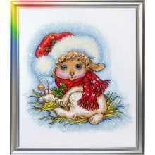 "Cross-Stitch Kit ""The Christmas Lamb"" LanSvit D-052"