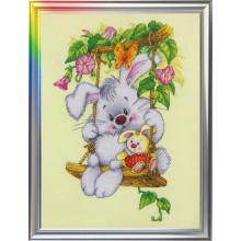 """Cross-Stitch Kit """"Sunny Bunny"""" LanSvit D-007"""