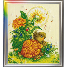 """Cross-Stitch Kit """"Touch of the Summer"""" LanSvit D-014"""