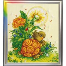 Набор для вышивания ЛанСвит, Прикосновение лета (Д-014)